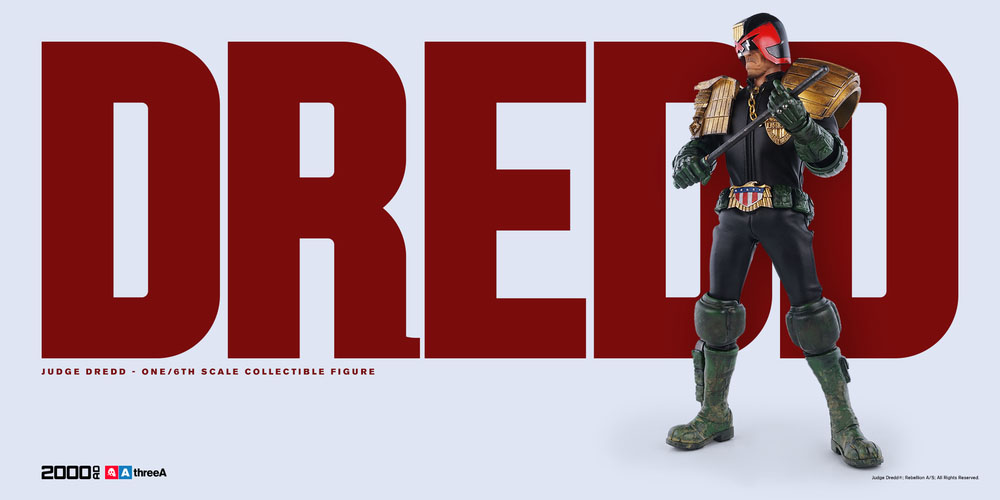3A Judge Dredd Sixth Scale 002