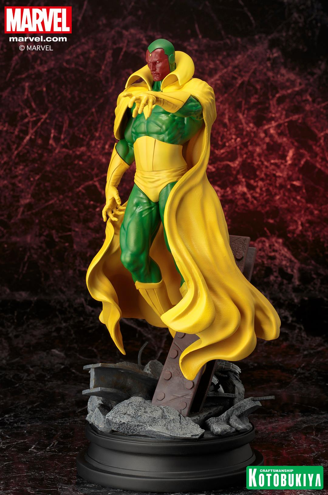 Marvel Comics Vision Fine Art Statue 002