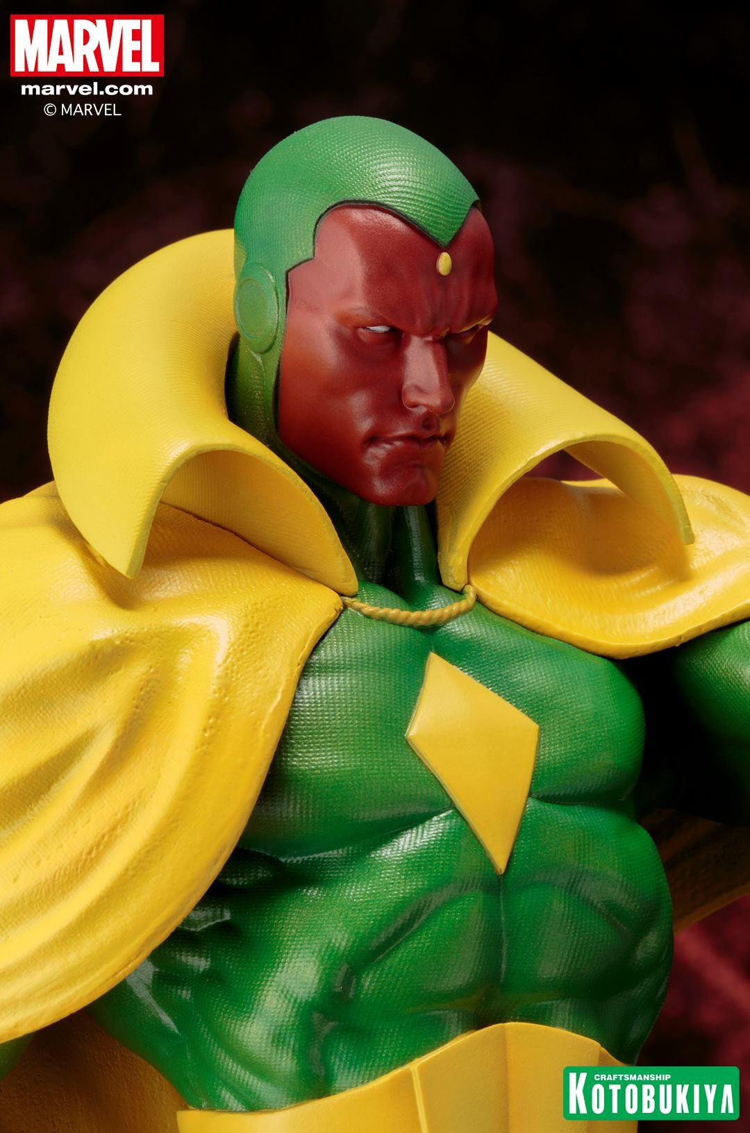 Marvel Comics Vision Fine Art Statue 009