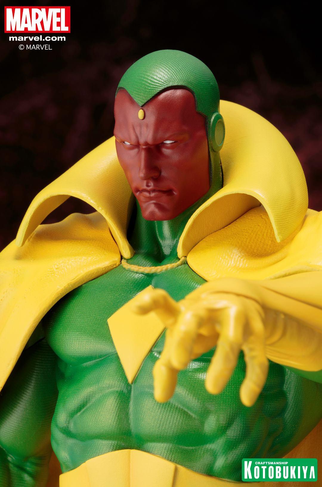 Marvel Comics Vision Fine Art Statue 010