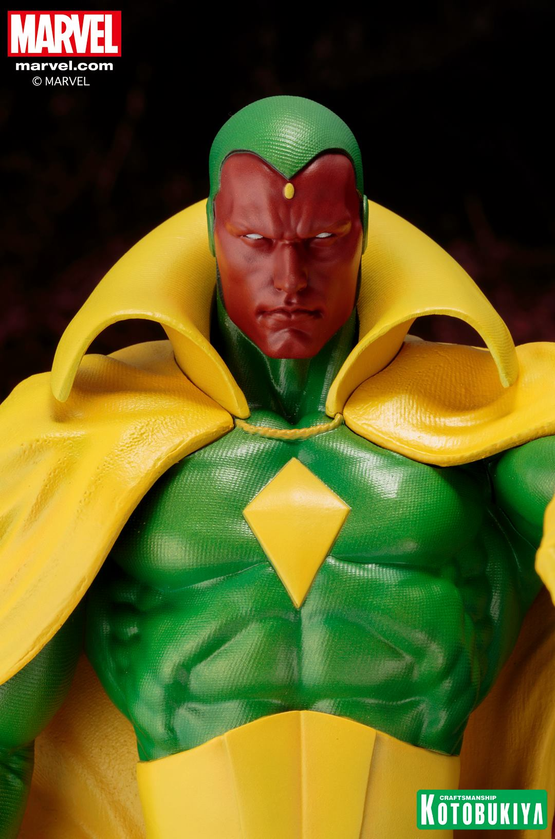 Marvel Comics Vision Fine Art Statue 011