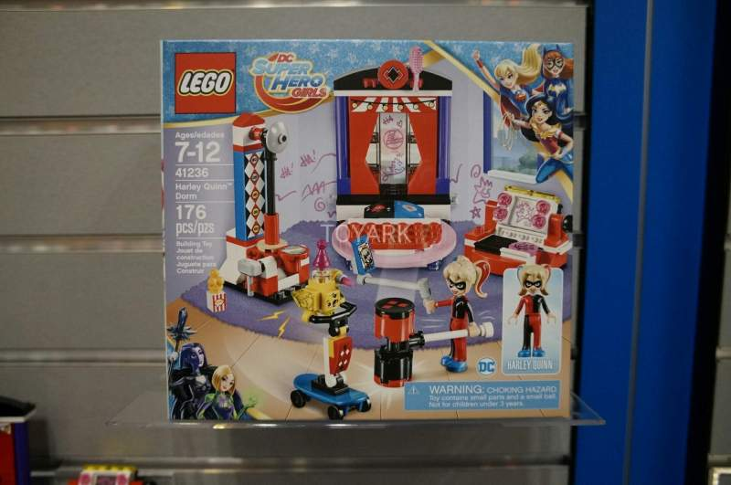 DC Super Hero Girls Lego Set 41236 Harley Quinn Dorm Toy Fair 2017