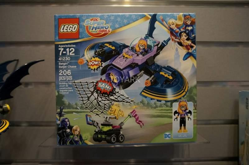 DC Super Hero Girls Lego 21230 Batgirl Batjet Chase Toy Fair 2017
