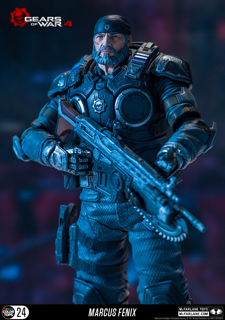 Gears Of War 4 Marcus Fenix Official Photos By McFarlane