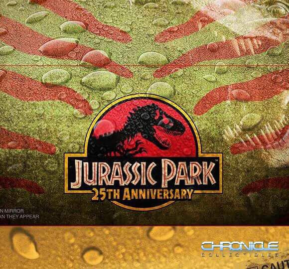 New Jurassic Park 25th Anniversary Collectible Teased By