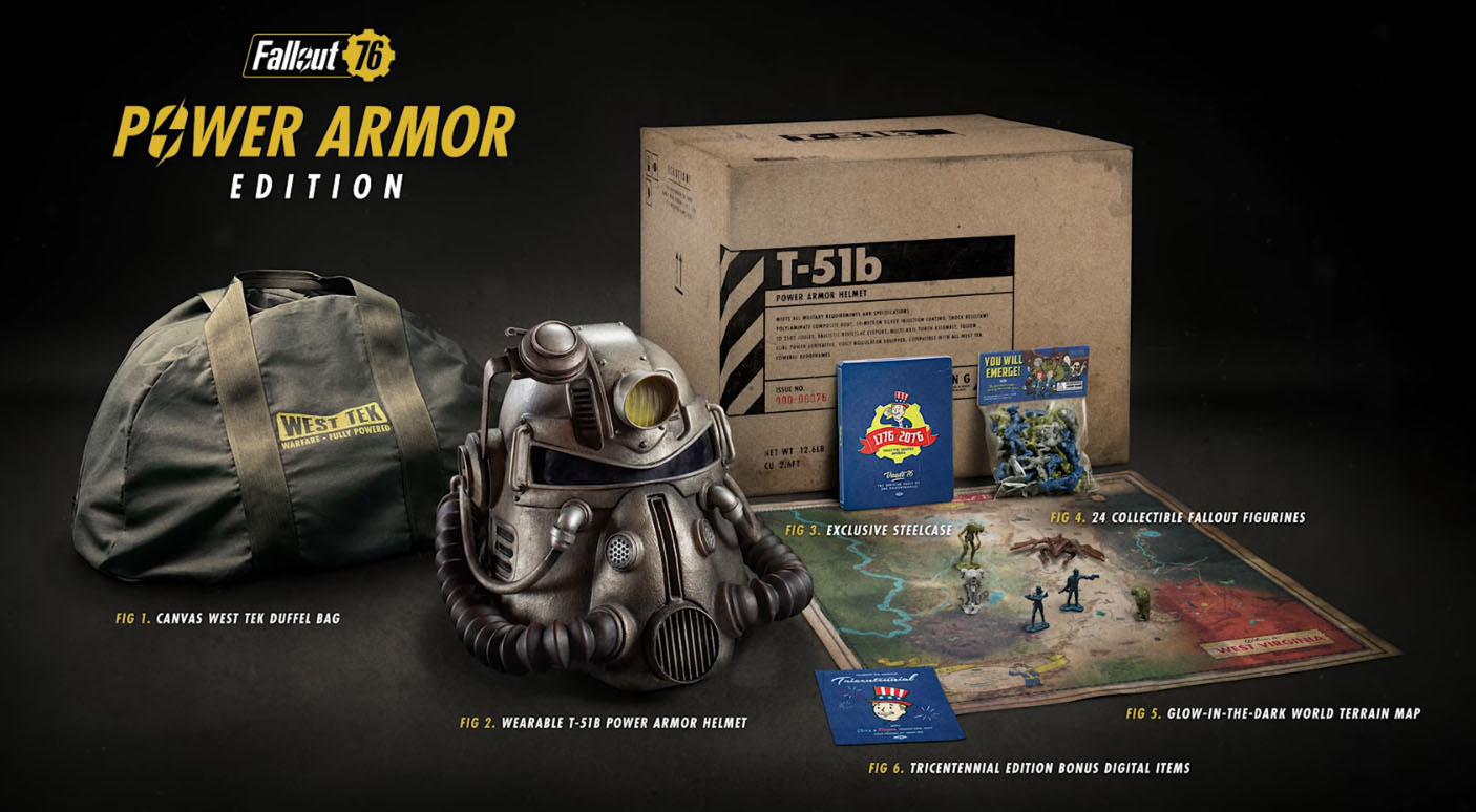 Chronicle Collectibles Life Size T 51 Helmet With Fallout