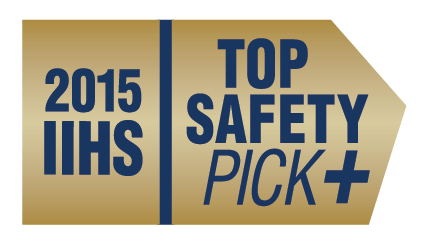 2015 top safety pick plus