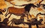 رسوم على كهف في العصر الحجري