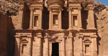 الدير في البتراء