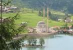 بحيرة أوزنجول ومدينة طرابزون