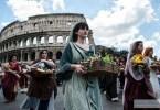 روما تختفل بعيد ميلاد العاصمة