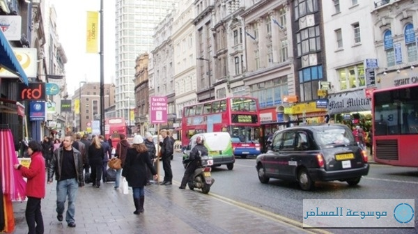 شارع أكسفورد وسط لندن