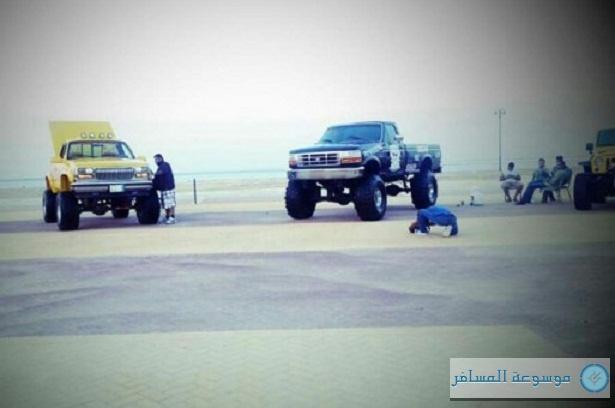 مهرجان شاطئ شباب في الجبيل
