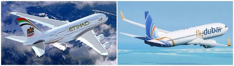 فلاي دبي - الإتحاد للطيران