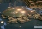 قبة متحف اللوفر أبوظبي