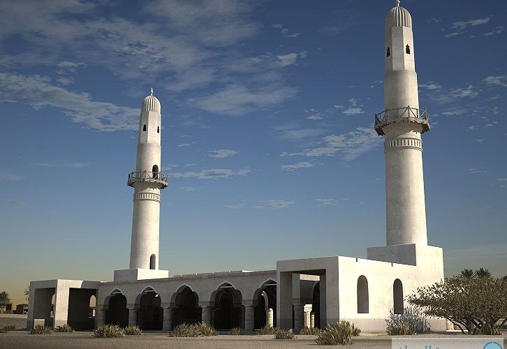 تدشين ترميم مسجد الخميس في البحرين وتطوير موقع المعلم الأثري