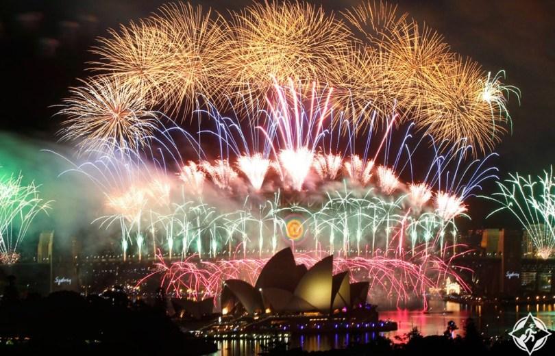 احتفالات ليلة رأس السنة الجديدة (6) سيدني - استراليا