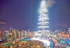 برج خليفة احتفالات رأس السنة دبي