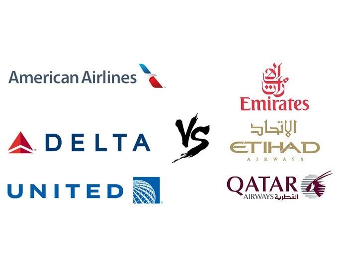 النزاع القائم بين شركات طيران أمريكية وخليجية ينتقل إلى واشنطن