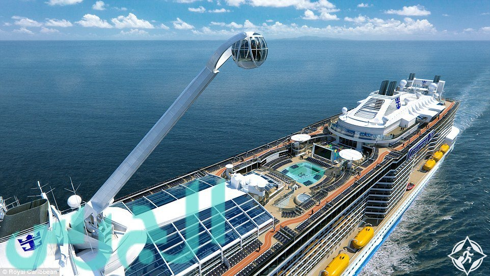 دبي تستضيف أضخم سفينة سياحية في تاريخ الرحلات البحرية