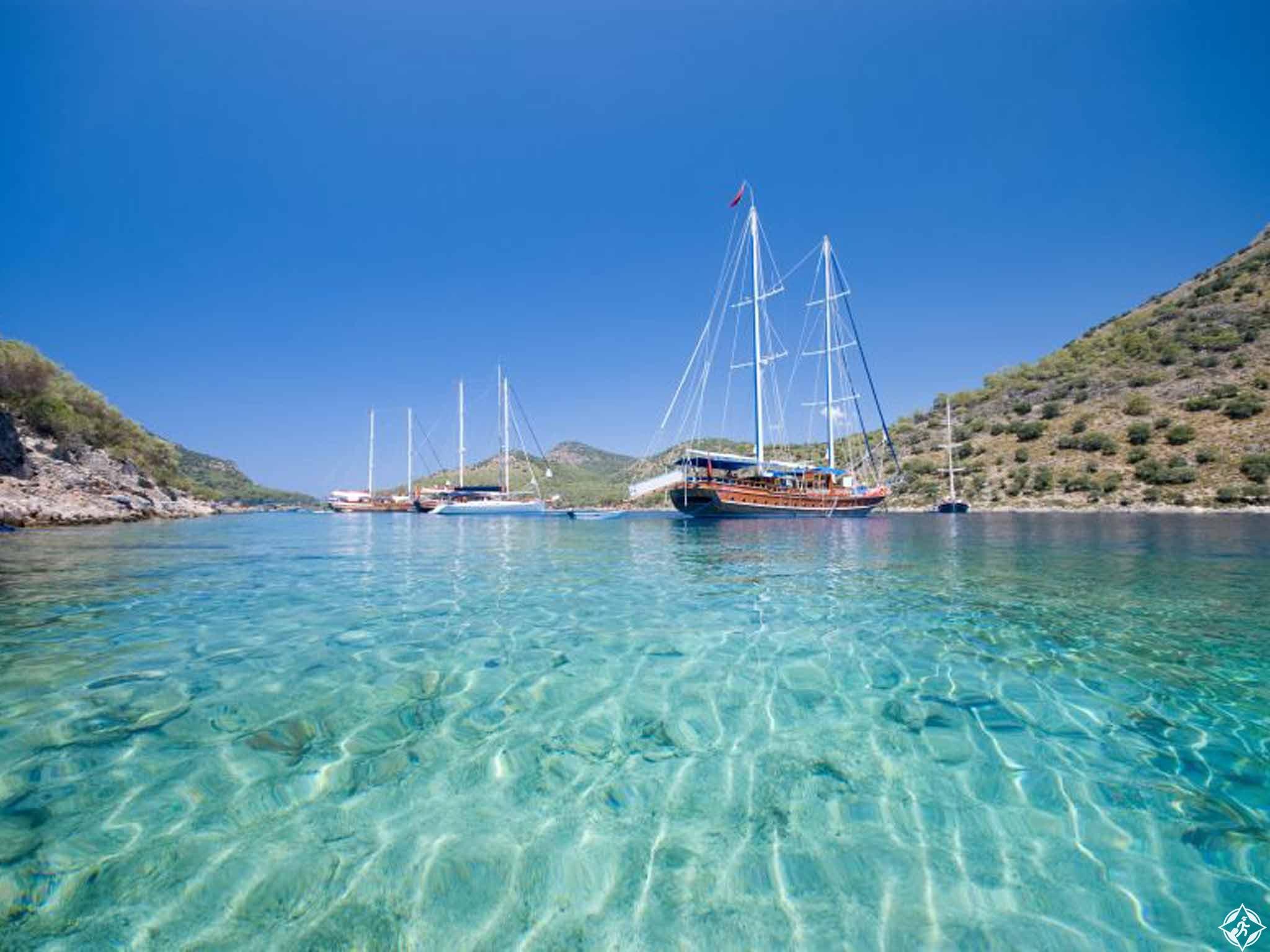 السواحل التركية : خلجان متألقة وفنادق أنيقة... وسحر لا يقارن