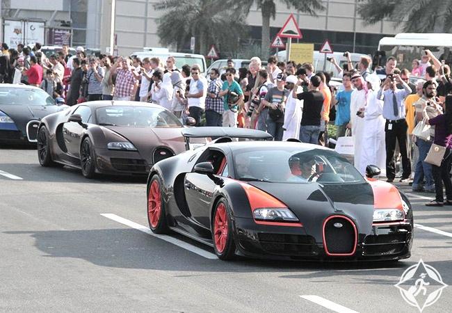 انطلاق مهرجان دبي للسيارات نوفمبر المقبل