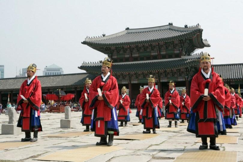 مزار جونغميو Jongmyo Shrine
