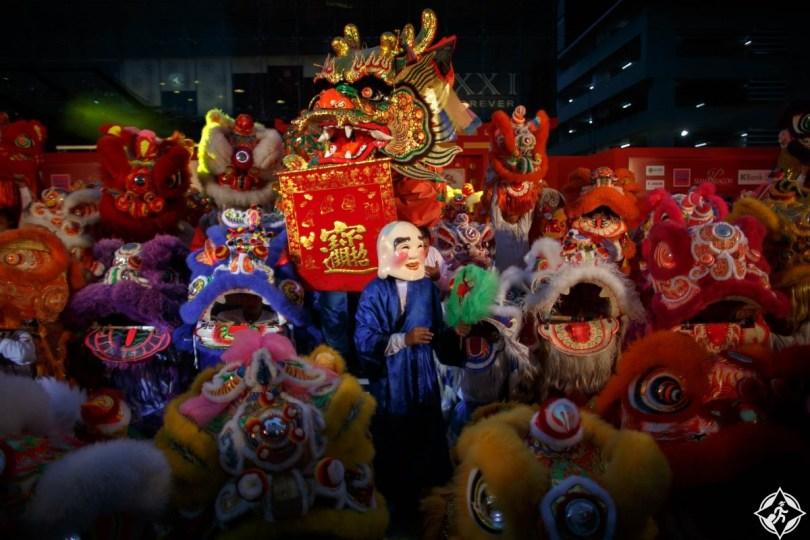 الاحتفال بالسنة الصينية الجديدة