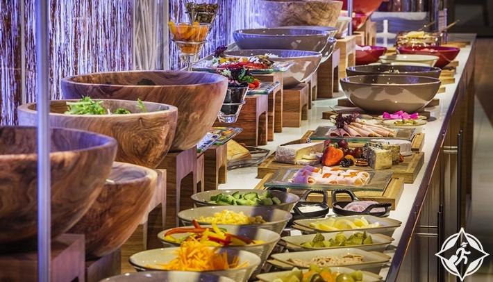 مطاعم هيلتون الممشى دبي