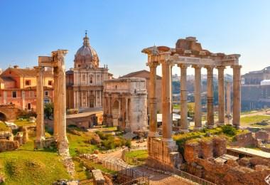 قبل السفر إلى روما