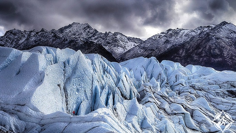 جبال ماتانوسكا الجليدية
