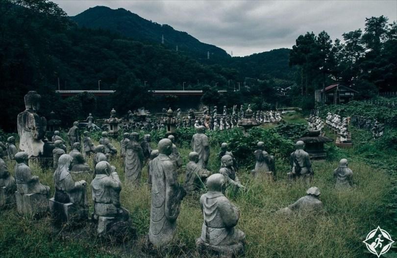 الحديقة اليابانية المهجورة