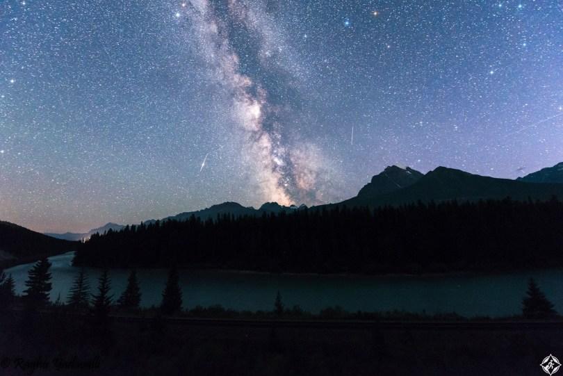 أمريكا-حديقة بانف الوطنية-درب التبانة-أجمل صور الفضاء