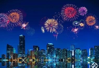 أمريكا-فلوريدا-ميامي-رأس السنة 2017