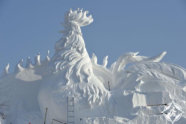 الصين-هاربين-مهرجان الجليد هاربين 1