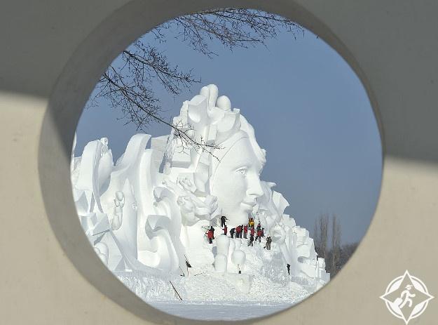 الصين-هاربين-مهرجان الجليد هاربين 2