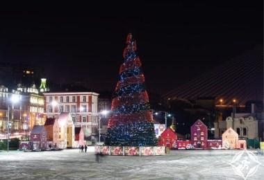 روسيا-فلاديفوستوك-شجرة عيد الميلاد-رأس السنة