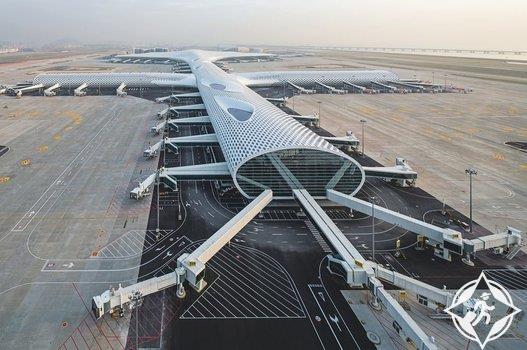 مطار شينزين باوان الدولي-الصين-أجمل صالات المطارات