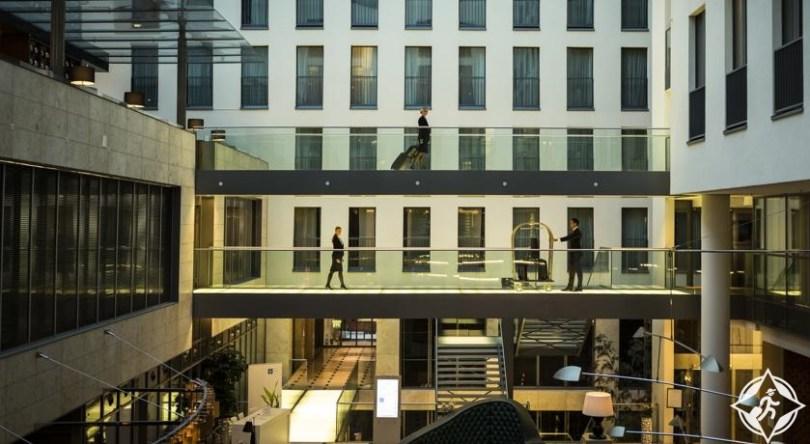 ألمانيا-دوسلدورف-فندق انتركونتيننتال دوسلدورف-أفضل فنادق دوسلدورف