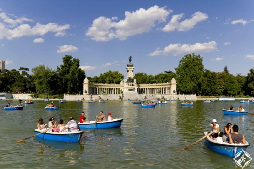 إسبانيا-مدريد-ريتيرو بارك-السياحة في مدريد للأطفال