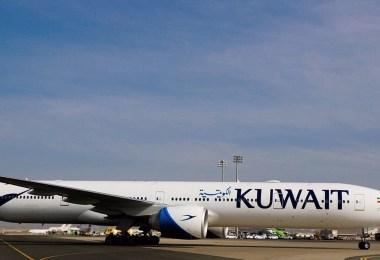مطار الملك عبدالعزيز الدولي بجدة يحتفي بوصول أول رحلة لطائرة الخطوط الكويتية الجديدة من طراز بوينج777-300ER.