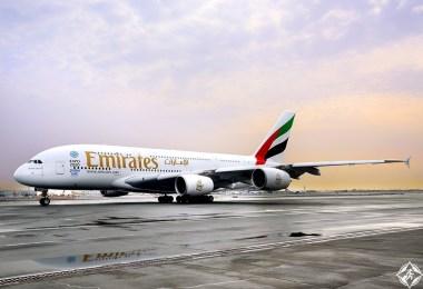 طيران الإمارات الأفضل في العالم ضمن جوائز تريب أدفايزر تشويس