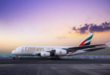 طيران الإمارات-طائرة إيرباص 380