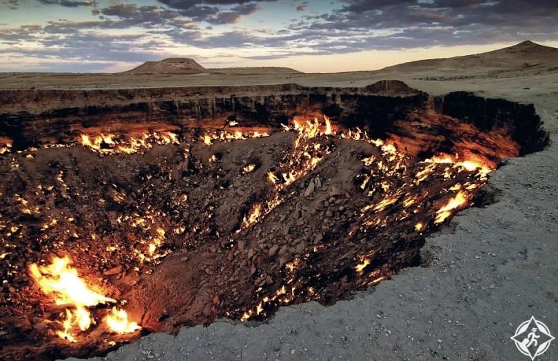 حفرة غاز دارفازا
