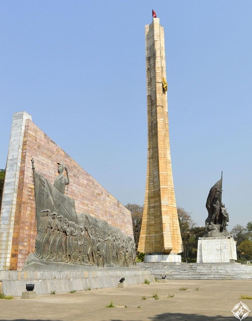 أديس أبابا - نصب ديرغ التذكاري
