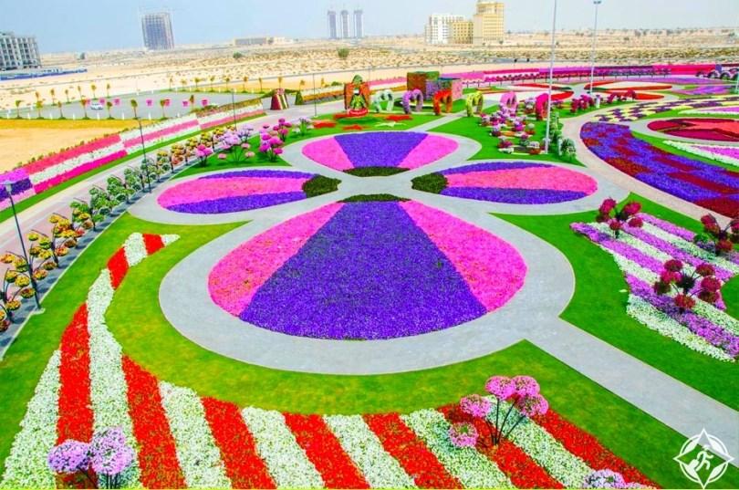 حديقة الزهور في دبي 10