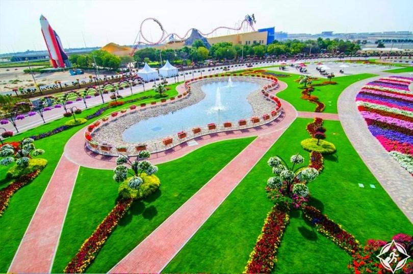 حديقة الزهور في دبي 4