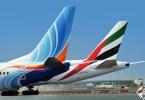 طيران الإمارات-فلاي دبي