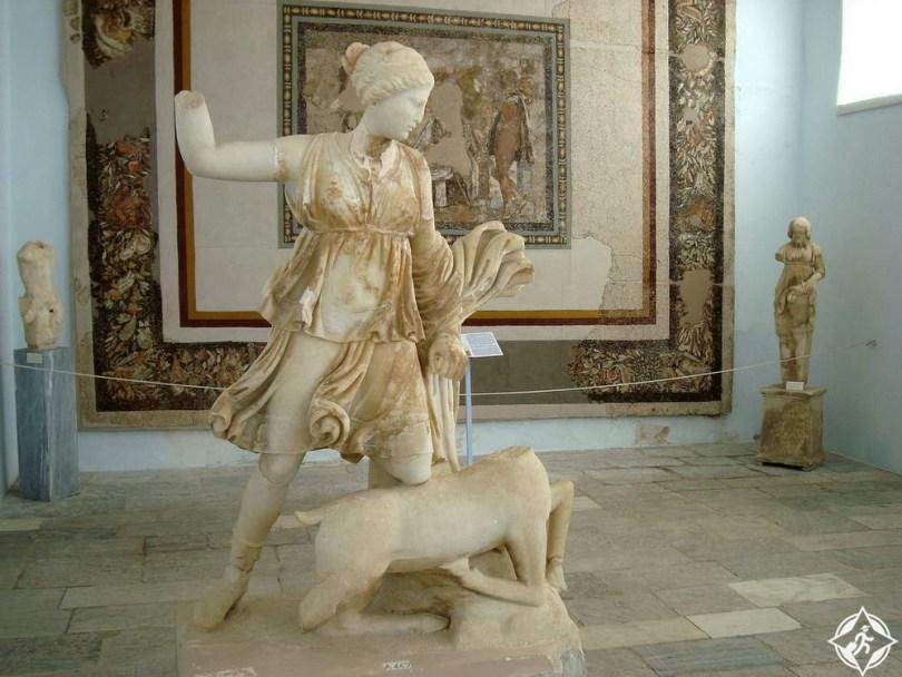 متحف ديلوس الأثري في جزيرة ميكونوس