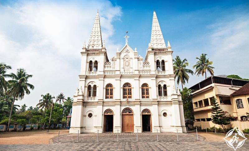 السياحة في كوتشي - كنيسة سانتا كروز